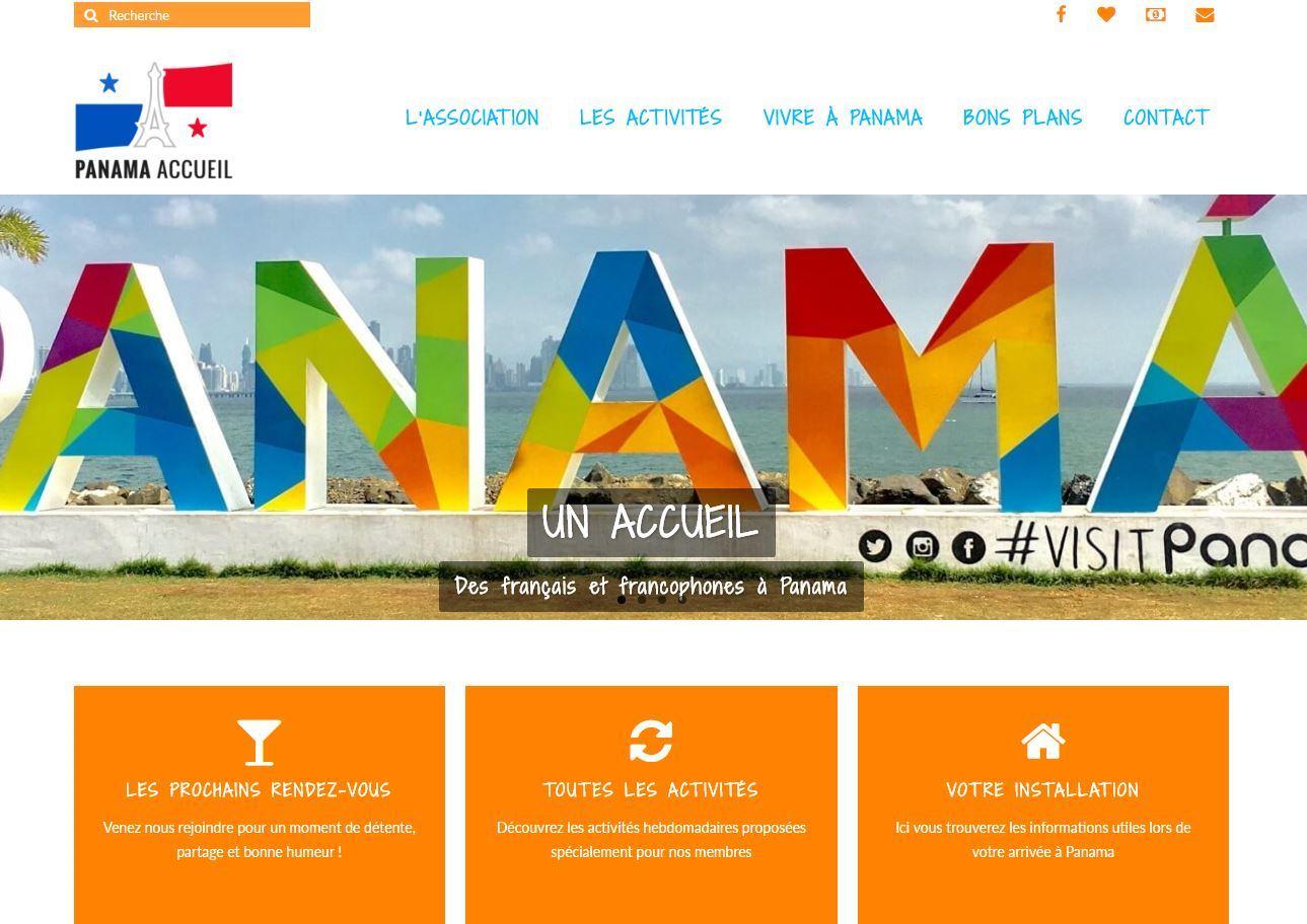 Página asociación Panama Accueil