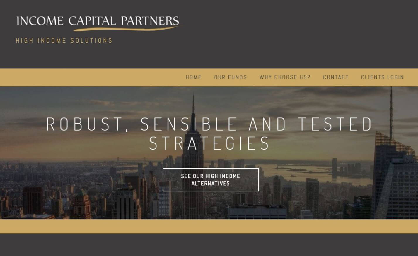 Página a medida Income Capital Partners